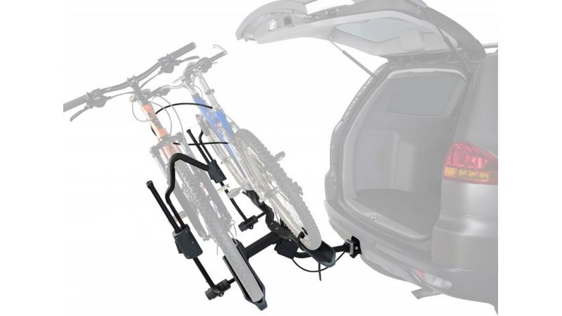 Plataforma de bicicleta de enganche doble plataforma Trekker